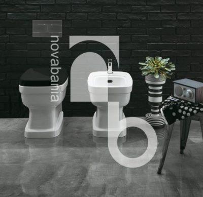 Стоящи тоалетни за вградено или високо казанче